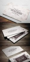 Cafe Business Card by vitalyvelygo