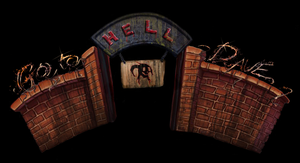 Logo for the indie Game GO TO HELL DAVE by GoToHellDave