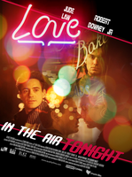 In the air tonight fanmovie poster by IchiOfTheRainbow