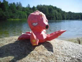 Octillery papercraft by TimBauer92