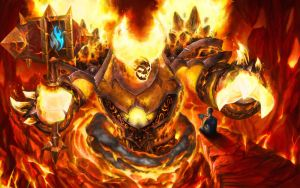 Ragnaros by JoshBurns