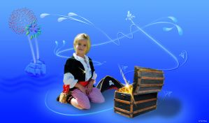 Little Pirate Keira by JustmeTD