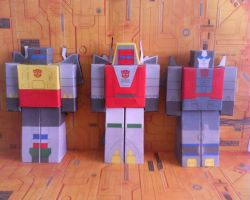 The First 3 Dinobots Created by Darknlord91