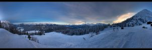 Ski Touring Paradise by stetre76