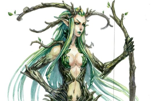 Dryad by Kutty-Sark