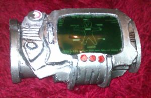 Pipboy 3000 prop by Zelvyne