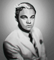 DiCaprio by Elayez