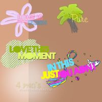 4 Png's by EverythingIsSTYLE