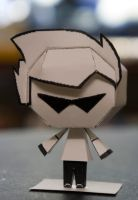Bro Homestuck Papercraft by Kittyintheraiyn