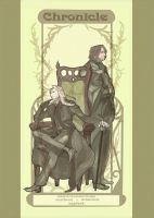 Lucius and Severus by xxxcompotaxxx