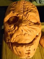 Corey Taylor Vol. 3 Mask Sculpture [COMPLETED] by TheOnlyLuciferSyxxx