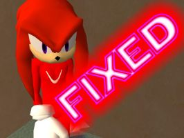 TS2 Knuckles The Echidna v2 FIXED by KindGenius