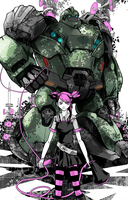 Miko, Bulkhead and Megaphones by ayhy