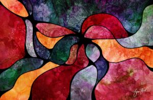 February Abstract by StarwaltDesign