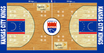 NBA Kansas City Kings Custom Basketball Court by Topherlee2