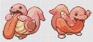 Lickitung Set by Hama-Girl