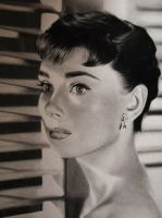 Audrey Hepburn by 30030610