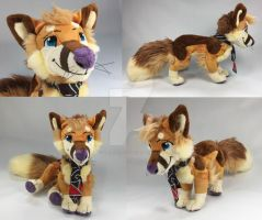 Custom Zann Plush by WhittyKitty