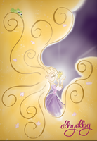 Rapunzel and the magic golden flower by ALBY-LePetiteDreamer