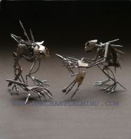 Watch Parts Creatures Junker and Tinker by AMechanicalMind