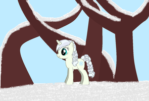 Snow Queen from Frozen MLP Style by vjs777