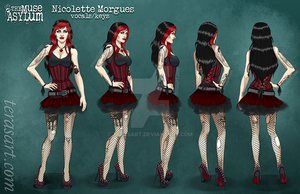 Nicolette Morgues - Turnaround by tbdoll
