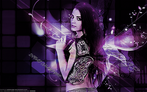 Paige The Divas Champion Wallpaper by JrbDesign