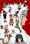 Naruto Christmas by volcanicmind