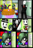 Spooky Spaghetti: Page 1 by The-Raccoon-Goddess