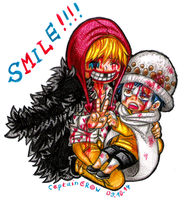 SMILE!!! by Captain--Ruffy