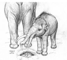 Small Mammoth by Talzhemir1