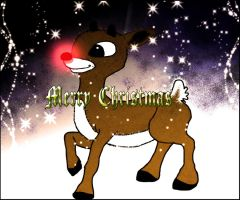 Rudolph the Red Nosed Reindeer by Jenilea01