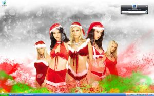 Merry Christmas 2007 Wallpaper by ShilloCjbNet