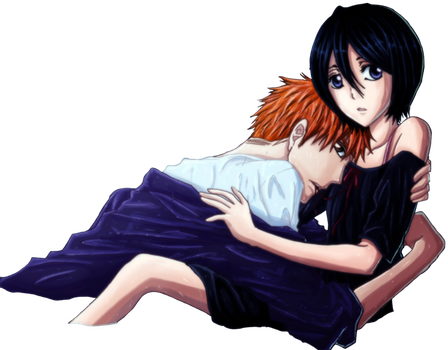 IchiRuki: In the Water Render by Loona-Cry