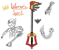 Keyblade - The Warrior's Spirit by TheGreatWarrior