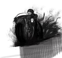 Rally Bike sketch by ViolentQuiche