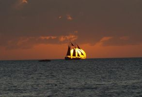 Evening Sail by InternationalPhotos