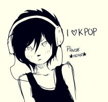 Prince listens to music by MatouKuroi