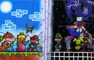 Super Paper Mario by aka-Best