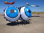 Eyeballs on the Beach by MogieG123