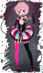 Miss-TaDa's OC Clown TADA! by Omega-Panda