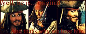 Captain Jack Sparrow by Chocolatemilk123