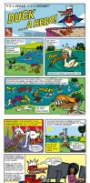 DUCK-comic-strip by javierhernandez