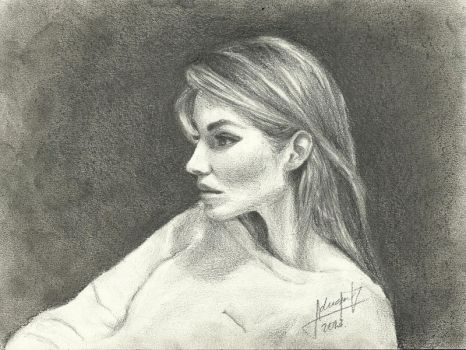 pencil drawing by AdriiUm