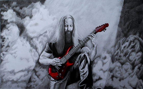Master Of Strings John Petrucci by AlexLehner