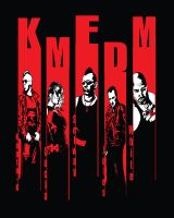 KMFDM shirt- The Band by DrewtheUnquestioned
