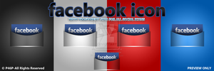 facebook icon by panos46