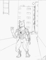 The Incredible Wolf Spider-Man by RyuTheWeredragon