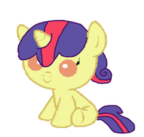 Rarity X Apple Bloom for Horsedog3799 by Strawberry-T-Pony