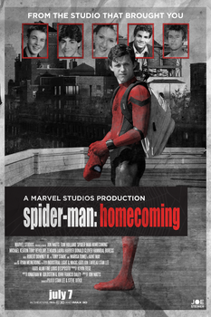 Marvel's SPIDER-MAN: HOMECOMING - POSTER by MrSteiners